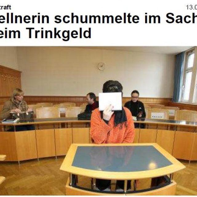 Trinkgeld-Schummlerei im Sacher: Kellnerin bestraft
