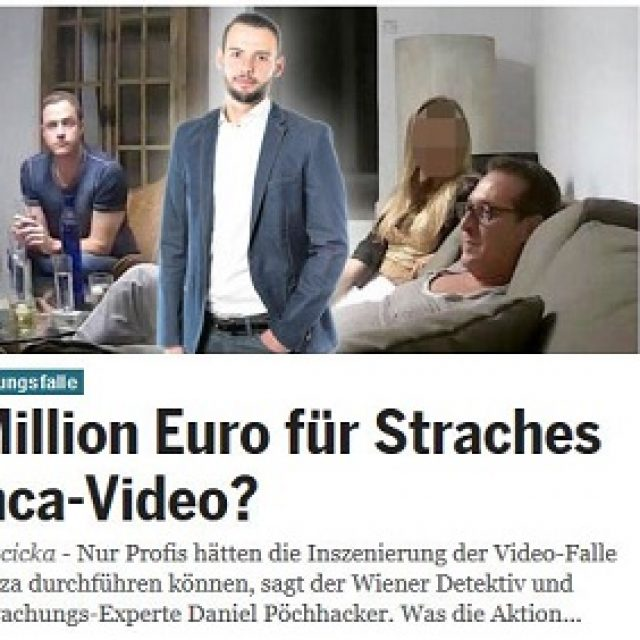 1 Million Euro für Straches Finca-Video?