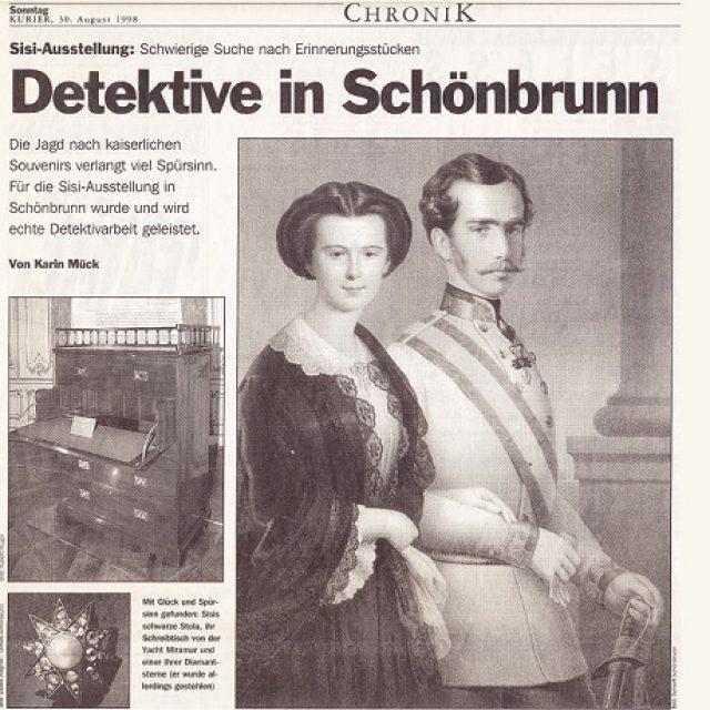 Detektive in Schönbrunn